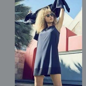 ATHLETA Zephyr Dress Navy Blue {II34}